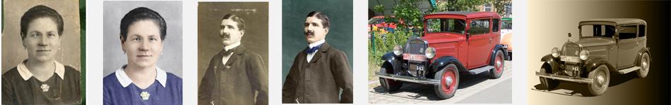 Restaurieren alter Fotos, Aufarbeiten, Wiederherstellen von Bildern
